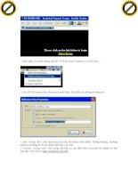 Giáo trình phân tích ảnh hưởng của các lổ hỏng bảo mật trên internet và các biện pháp phát hiện hệ thống bị tấn công p8 pptx