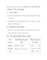 Giáo án tiếng việt lớp 5 - Luyện từ và câu: ÔN TẬP VỀ DẤU CÂU (Dấu phẩy) pptx