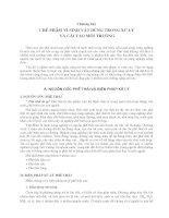 Giáo trình công nghệ vi sinh vật trong sản xuất nông nghiệp và xử lý ô nhiễm môi trường - Chương 7 ppt