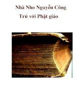 Nhà Nho Nguyễn Công Trứ với Phật giáo _1 pdf