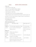 Giáo án Tập đọc lớp 3: Đề bài: NHỮNG TIẾNG CHUÔNG REO pps