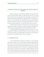Giáo trình CDMA và thông tin di động - Phần 1 Ứng dụng công nghệ CDMA trong mạng thông tin di động - Chương 4 pptx