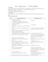 Giáo án lớp 4: Môn : Luyện từ và câu: Từ đơn và từ phức doc