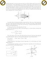 Giáo trình hướng dẫn phân tích nguyên lý chồng chất các chấn động trong hiện tượng giao thoa p10 potx