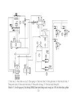 Giáo trình phân tích sơ đồ nguyên lý hệ thống lạnh trung tâm với thông số kỹ thuật p5 pptx