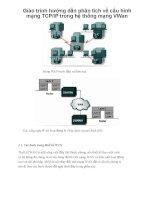 Giáo trình hướng dẫn phân tích về cấu hình mạng TCPIP trong hệ thống mạng VWan p1 pps