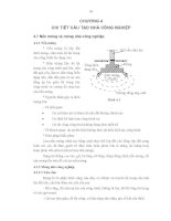 Cơ sở thiết kế nhà máy - Phần 2 Thiết kế kiến trúc công nghiệp - Chương 4 pdf