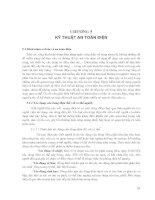 Kỹ thuật vệ sinh, an toàn lao động và phòng chữa cháy - Chương 5 docx
