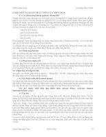Bài giảng Thú y cơ bản : CÁC PHẢN ỨNG TỰ VỆ CỦA CƠ THỂ part 2 pdf