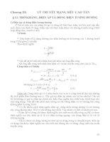 BÀI GIẢNG MÔN HỌC KỸ THUẬT SIÊU CAO TẦN - CHƯƠNG 3 pdf