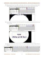 Giáo trình hướng dẫn cách vẽ hoa hồng bằng kỹ thuật clone stamp tool trong Softimage phần 10 ppsx