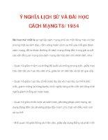 Ý NGHĨA LỊCH SỬ VÀ BÀI HỌC CÁCH MẠNG T8/1945_2 potx