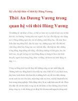 Kỷ yếu hội thảo về thời kỳ Hùng Vương_2 pdf
