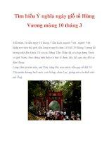 Tìm hiểu Ý nghĩa ngày giỗ tổ Hùng Vương mùng 10 tháng 3 pot