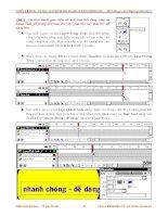 Giáo trình hướng dẫn cách vẽ hoa hồng bằng kỹ thuật clone stamp tool trong Softimage phần 9 doc