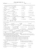ENGLISH TEST 15'''' – 1 docx