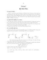 Giáo trình kỹ thuật truyền hình - Phần 2 Truyền hình màu - Chương 5 ppsx