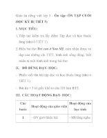 Giáo án tiếng việt lớp 5 - Ôn tập: ÔN TẬP CUỐI HỌC KỲ II( TIẾT 5) pptx