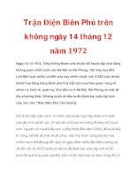 Trận Điện Biên Phủ trên không ngày 14 tháng 12 năm 1972 pot