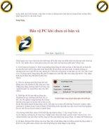 Giáo trình phân tích ảnh hưởng của các lổ hỏng bảo mật trên internet và các biện pháp phát hiện hệ thống bị tấn công p9 pps