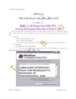 Giáo trình THIẾT KẾ BÀI GIẢNG ĐIỆN TỬ - Chương 3 docx