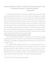 """VỀ QUAN ĐIỂM """"ĐỨC LÀ GỐC"""" VÀ VẤN ĐỀ XÂY DỰNG CON NGƯỜI TỪ NỀN TẢNG ĐẠO ĐỨC TRONG TƯ TƯỞNG HỒ CHÍ MINH ppsx"""