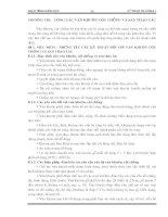 Giáo trình kỹ thuật thi công I - Phần 2 Công tác bê tông và bê tông cốt thép toàn khối - Chương 8 potx