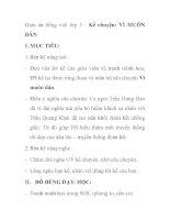 Giáo án tiếng việt lớp 5 - Kể chuyện: VÌ MUÔN DÂN pps
