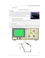 Kỹ thuật đo lường điện tử - Chương 8 ppsx