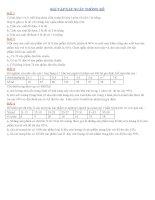 hướng dẫn giải bài tập xác xuất thống kê