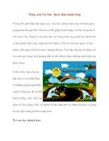 Tiếng Anh Trẻ Em - Bước đệm thành công pptx