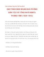 CAO TRÀO CÁCH MẠNG GIẢI PHÓNG DÂN TỘC VÀ TỔNG KHỞI NGHĨA THÁNG TÁM (1939-1945)_4 pdf