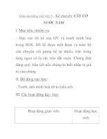 Giáo án tiếng việt lớp 5 - Kể chuyện: CÂY CỎ NƯỚC NAM pdf