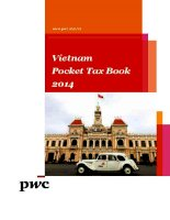 pwc vietnam   pocket tax book 2014