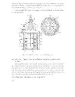 Các quá trình và thiết bị công nghệ sinh học : CÁC THIẾT BỊ LÊN MEN NUÔI CẤY CHÌM VI SINH VẬT TRONG CÁC MÔI TRƯỜNG DINH DƯỠNG LỎNG part 4 docx
