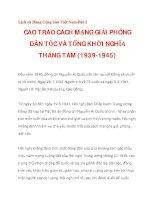 CAO TRÀO CÁCH MẠNG GIẢI PHÓNG DÂN TỘC VÀ TỔNG KHỞI NGHĨA THÁNG TÁM (1939-1945)_2 pot