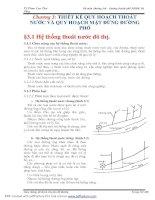 GIAO THÔNG ĐÔ THỊ VÀ CHUYÊN ĐỀ ĐƯỜNG - CHƯƠNG 3 docx