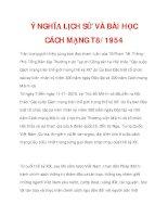 Ý NGHĨA LỊCH SỬ VÀ BÀI HỌC CÁCH MẠNG T8/1945_1 doc