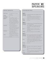 Tài liệu Anh văn: PAPER 5 SPEAKING GENERAL DESCRIPTION STRUCTURE AND TASKS potx