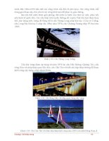 Giáo trình giới thiệu đặc điểm chung về kết cấu của cầu kim loại p4 pps