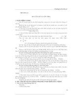 Kỹ thuật đo lường điện tử - Chương 6 docx