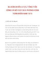 BA ĐÒN CHIẾN LƯỢC, TỔNG TIẾN CÔNG VÀ NỔI DẬY GIẢI PHÓNG HOÀN TOÀN MIỀN NAM 1975_1 ppsx