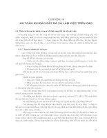 Kỹ thuật vệ sinh, an toàn lao động và phòng chữa cháy - Chương 4 pptx