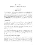 Bài giảng Thú y cơ bản : THẢO LUẬN- VÀ BÀI THỰC HÀNH CHUYÊN ĐỀ CÚM GIA CẦM part 1 potx
