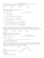 Bài tập sóng cơ vật lý hay và khó