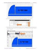 Giáo trình hướng dẫn cách vẽ hoa hồng bằng kỹ thuật clone stamp tool trong Softimage phần 4 docx