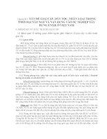 Chuyên đề 5: VẤNĐỀ GIAI CẤP, DÂN TỘC, NHÂN LỌAI TRONG THỜI ĐẠI NÀY NAY pdf