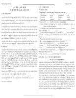 Bài tập tiếng anh HKI lớp 11 pot