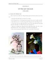 Giáo trình Vẽ Mỹ Thuật III & IV - Chương 2 pptx