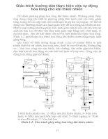 Giáo trình hướng dẫn thực hiện việc tự động hóa lỏng cho khí thiên nhiên phần 1 docx